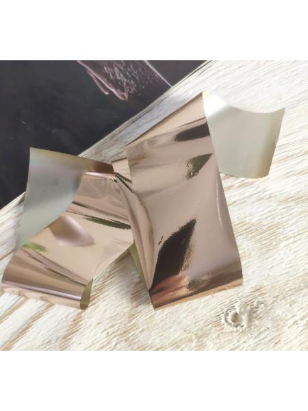 Фольга для дизайна ногтей бежевая