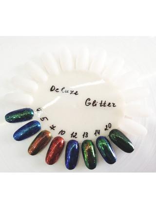 Втирка для ногтей Deluxe glitter №004