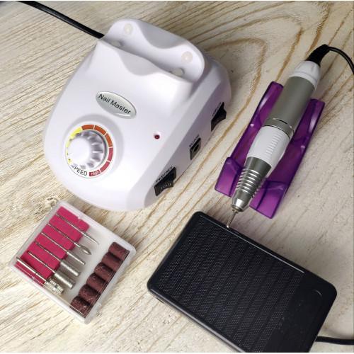 Аппарат для маникюра и педикюра ZS-603 (белый) в Москве