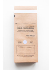 Крафт-пакеты 75x150 упаковка 100шт. Red Star