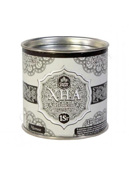 ХНА для Биотату и Бровей Grand Henna 15 грамм Черная