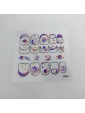 3D наклейки для дизайна ногтей №57