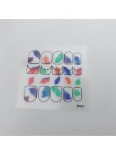 3D наклейки для дизайна ногтей №61