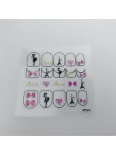 3D наклейки для дизайна ногтей №63