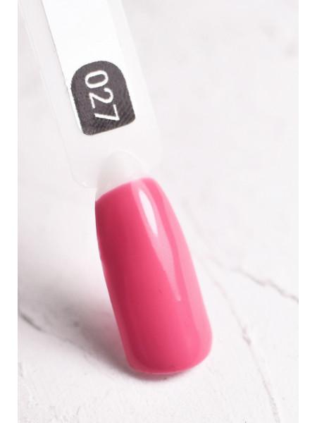 Гель-лак FOR YOU № 027 розовая гвоздика