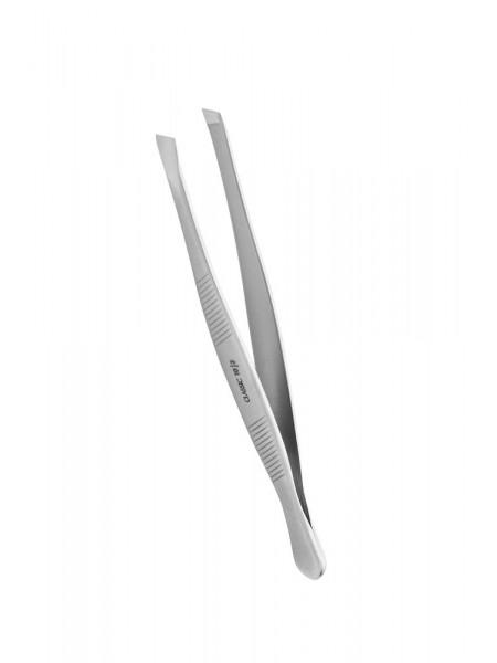 Пинцет для бровей Classic TC-10/3 (широкие скошенные кромки). Staleks