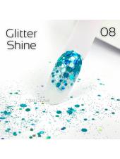 Глиттер для ногтей Shine Art-A 08 1гр