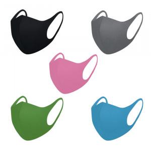Маска защитная для лица неопреновая, мультицвет (упаковка 5 разных цветов)
